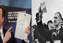 David Cameron Neville Chamberlain