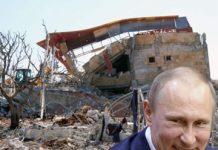 putin bombing hospitals syria