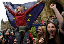 Brexit-eu-Remainers-protest-indoctrinated-youth