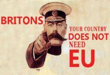 EU POSTER vote leave