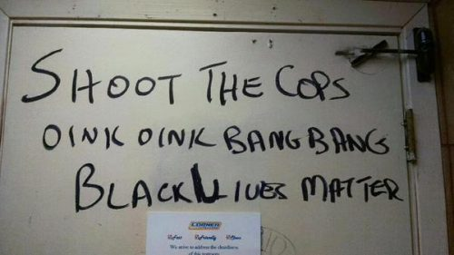 Shoot-the-Cops-Graffiti-black lives matter