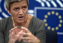 Nasty piece of work Margrethe Vestager