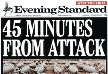fake news 45mins attack standard