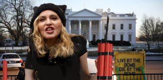 madonna white house
