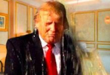 trump golden shower