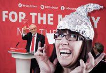 Jeremy-Corbyn-tinfoilhat-corbynistas