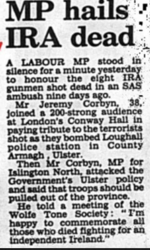 corbyn press cut IRA
