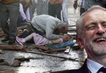 jeremy corbyn laughing at IRA bomb victims