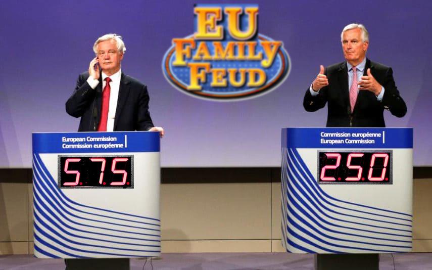 EU BREXIT GAMESHOW