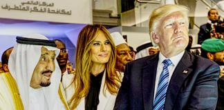 Donald Trump Saudi Arabia King