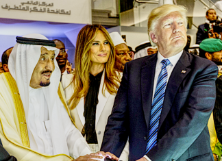 Donald Trump Saudi Arabia King