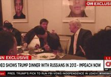 trump dinner russians 2013