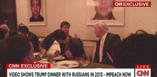 trump dinner russians 2013
