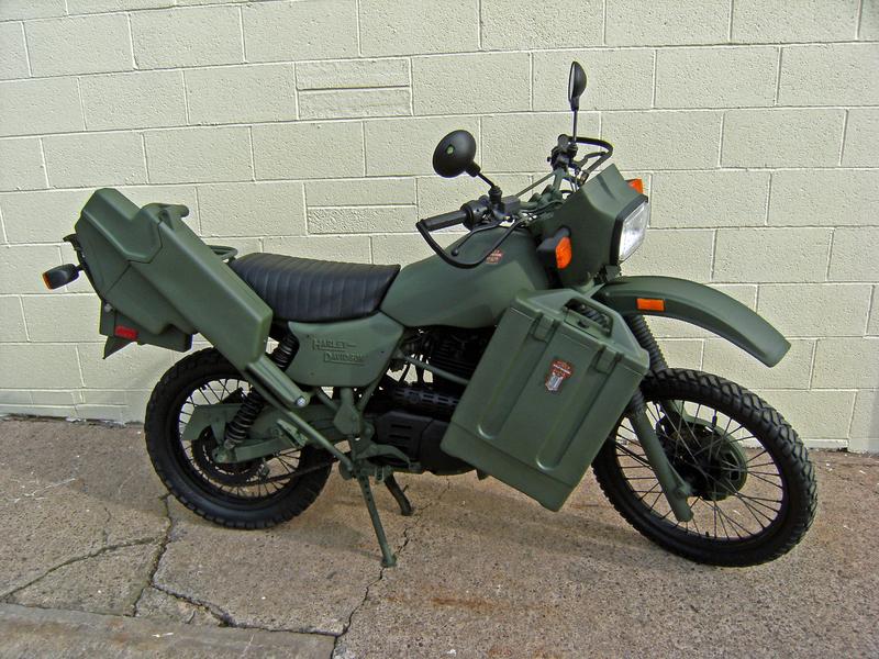 Harley Davidson MT350 Motor bike