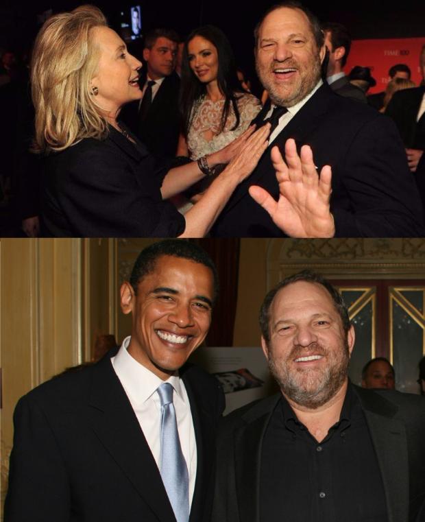 weinstein hillary obama