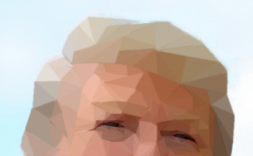 the donald low poly