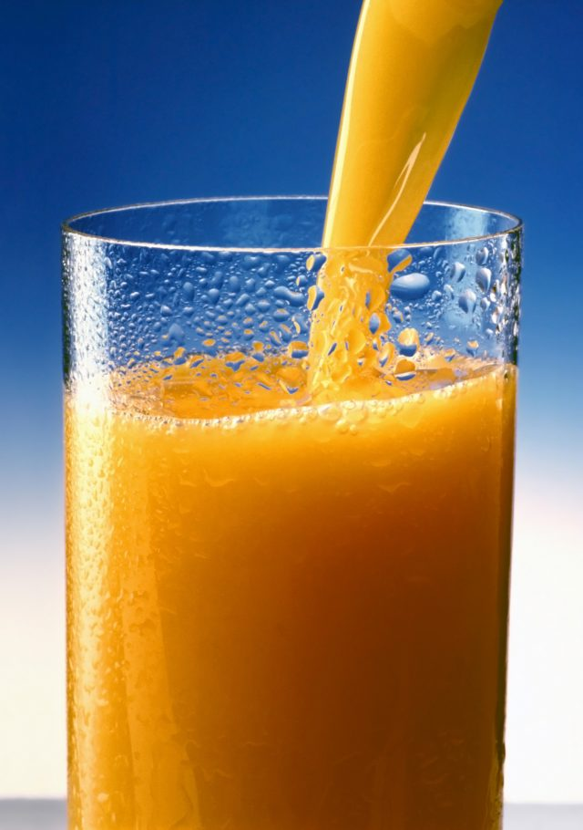 Orange_juice kylie jenner