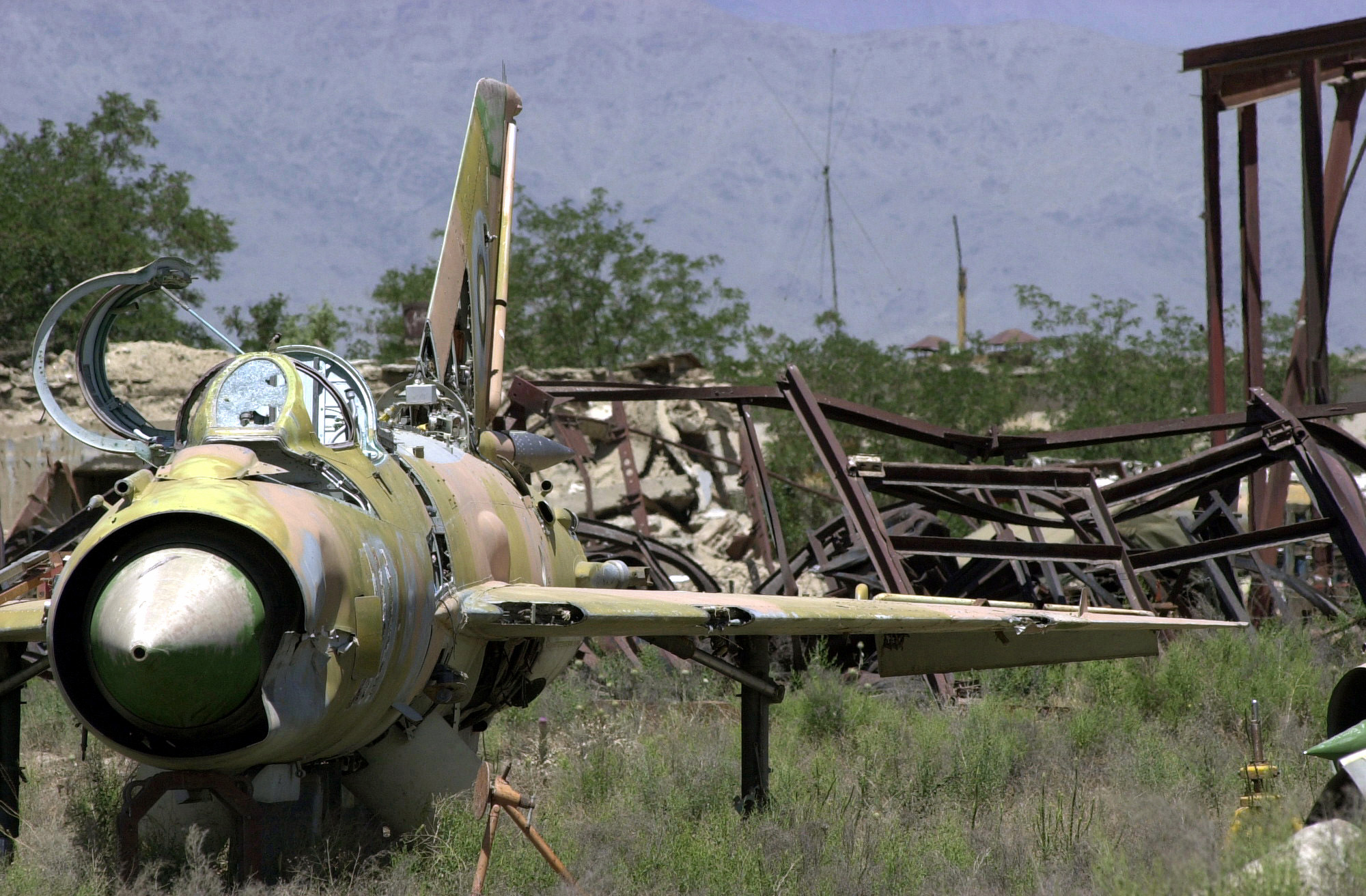 crumbling airforce of the russians