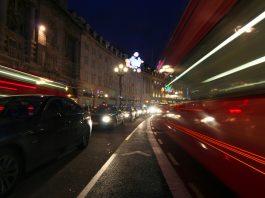 London Night light