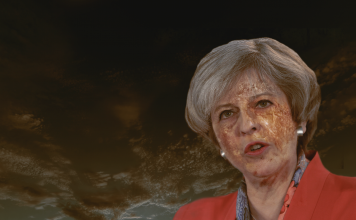 theresa may rigor mortis