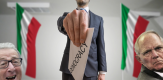 EU DESTROYS Italian democratic election