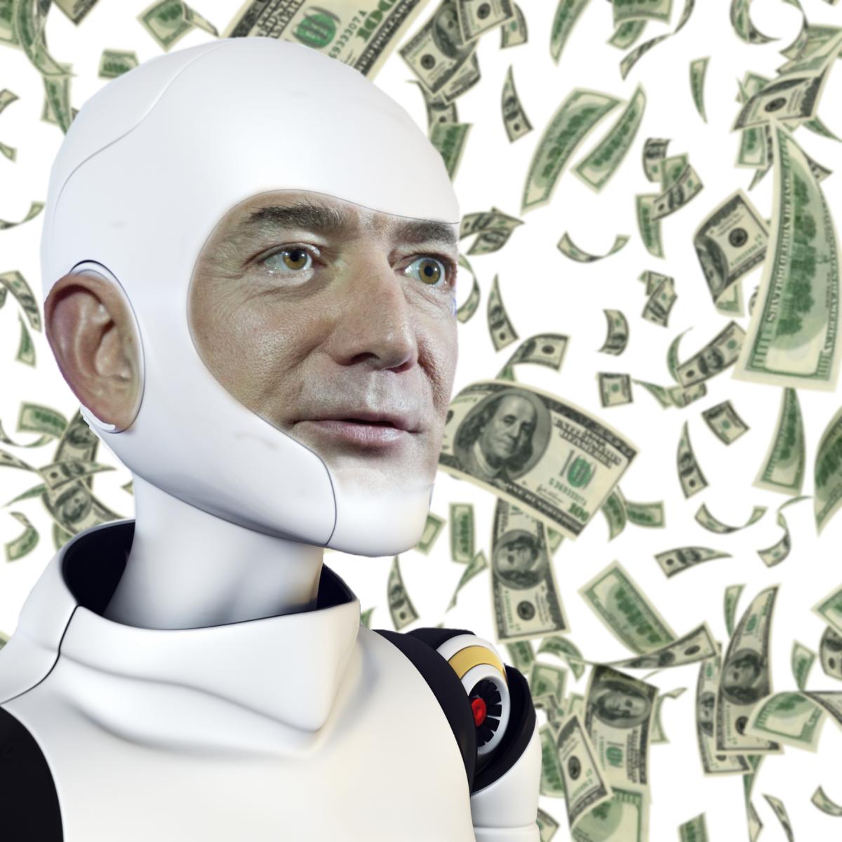 bezos robot android