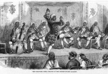 minstrel-show-1858-granger - royal family