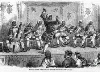 minstrel-show-1858-granger - royal family