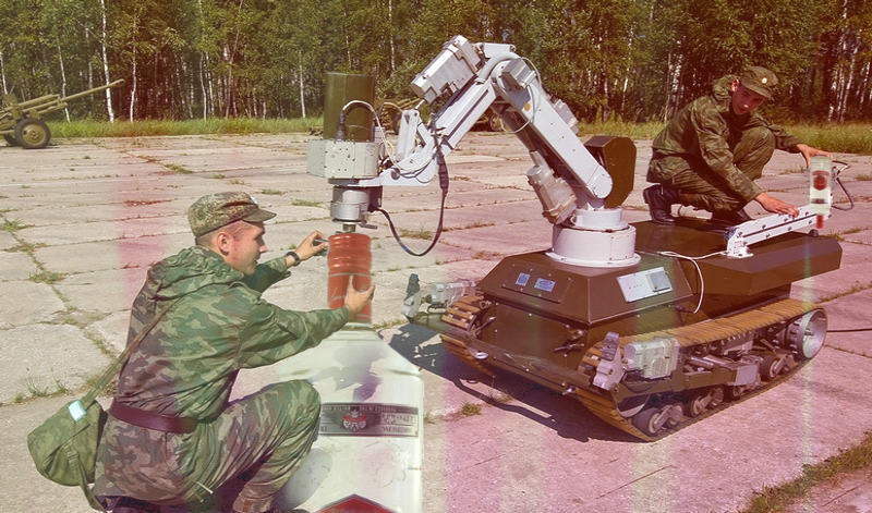 russian army killer robots