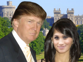 trump and meghan windsor castle wedding