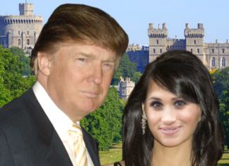 trump and meghan windsor castle wedding
