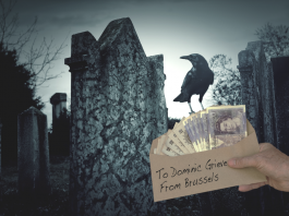 Dominic Grieve Envelope Brussels Treason