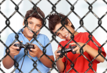 Kids playstation cages