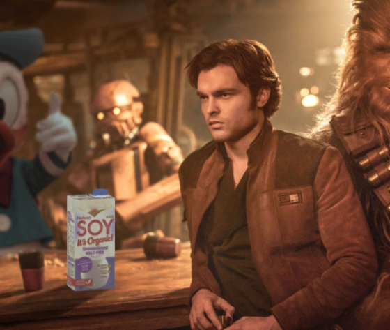 han soylo star wars donald duck