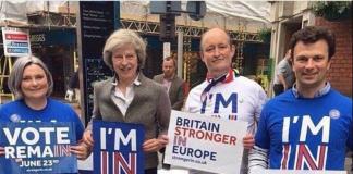 Theresa May Remain Remoaner