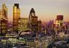 city of london sunset
