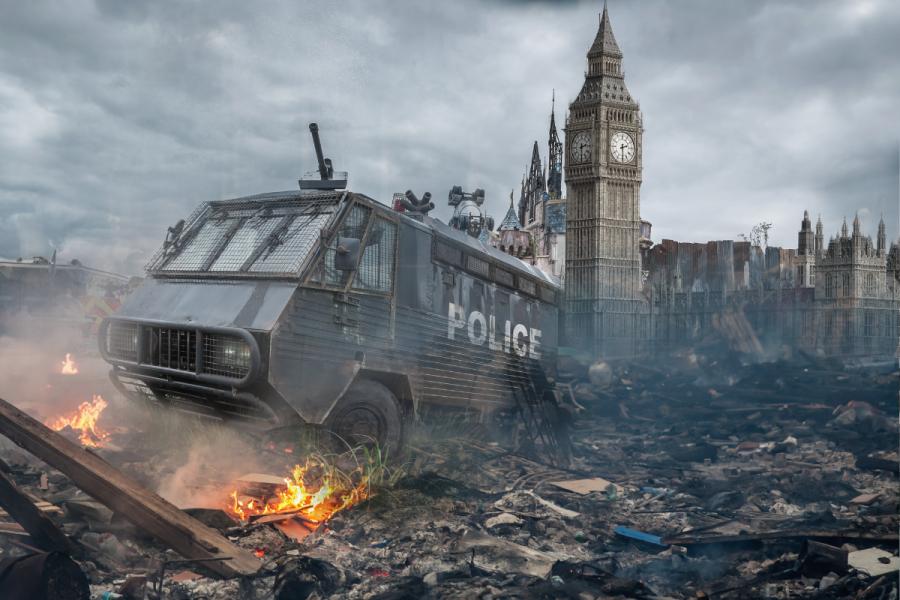 london BRINO riots Soft Brexit