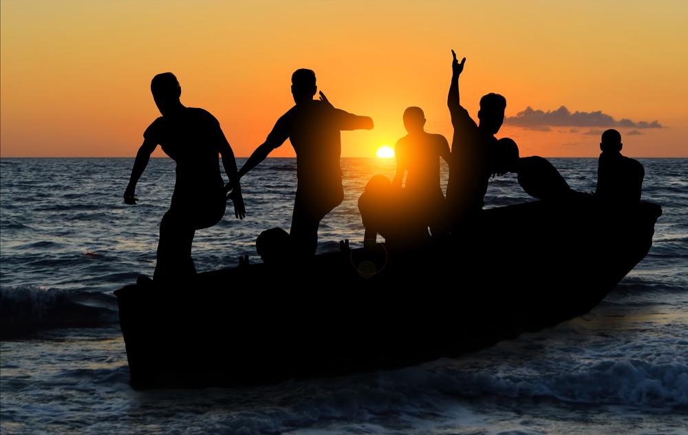 sunseekers on Spain beaches
