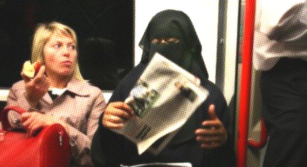 burqa woman