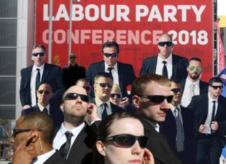 Jewish Labour MP Bodyguards