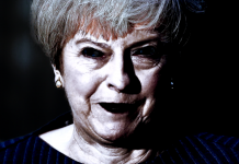 theresa may dark