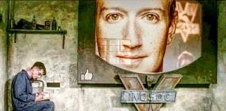 facebook portal telescreen 1984