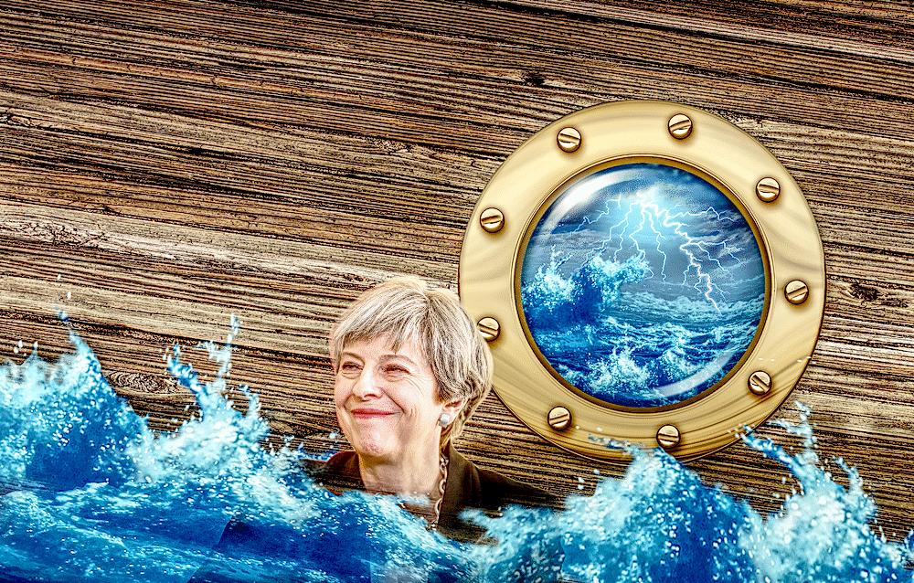sinking ship brino theresa may