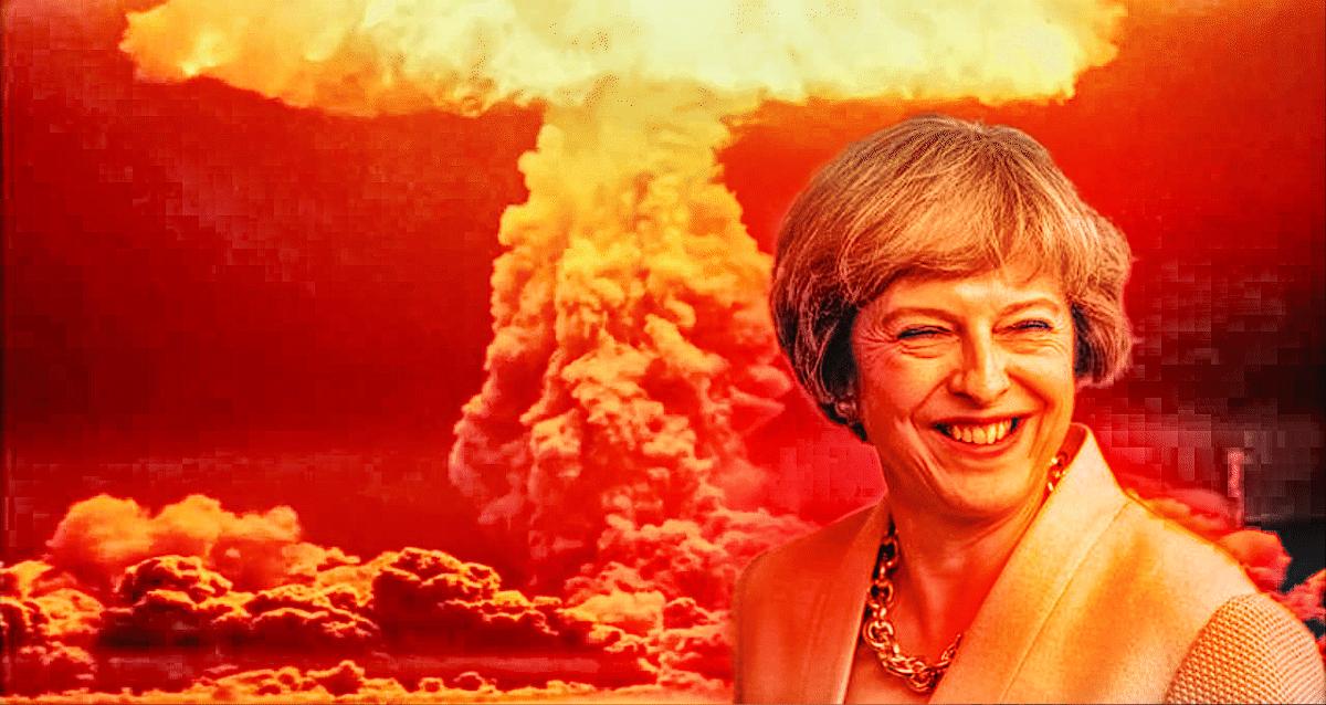 theresa may nuclear