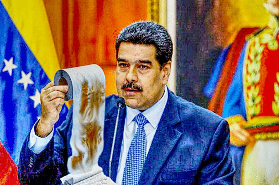 Maduro toilet paper used venezuela