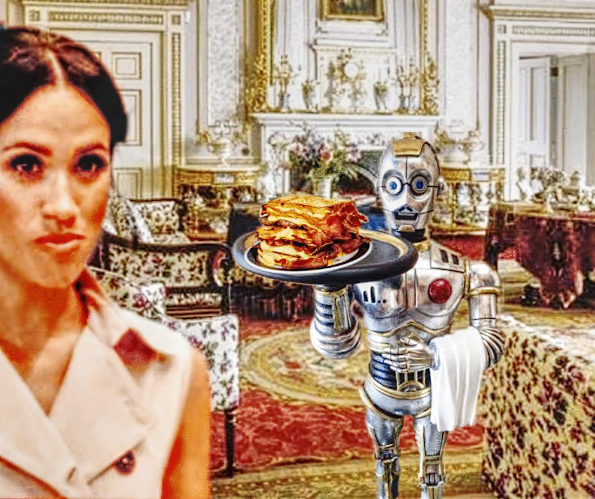 meghan markle frogmore estate robot