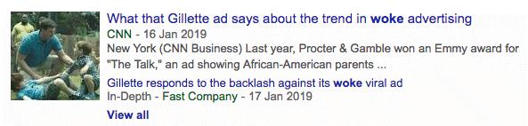 woke headline
