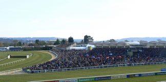 """Cheltenham Racecourse"" (CC BY-SA 2.0) by Carine06"