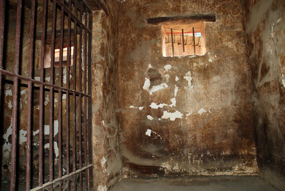 Dubai jail cell
