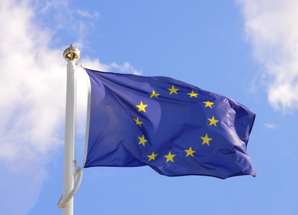 eu flag st george's day